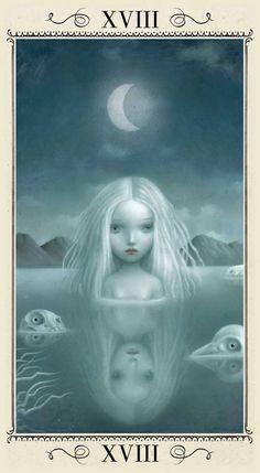 the moon, nicoletta ceccoli