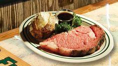 Prime rib at Flanigan's. - Courtesy: Flanigans.net