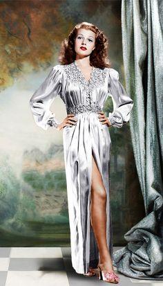 Resultado de imagem para rita hayworth vestidos
