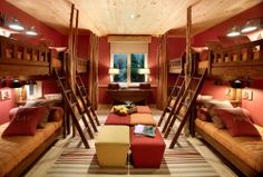 Bunk beds perfect for sleep overs.