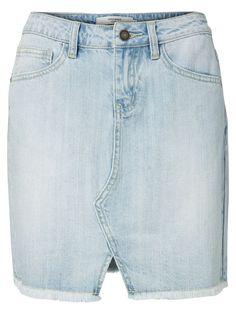 The popular denim skirt is here! From VERO MODA