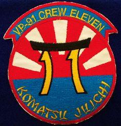 USN Navy VP 91 CAC 11 Komatsu Juichi Patch | eBay