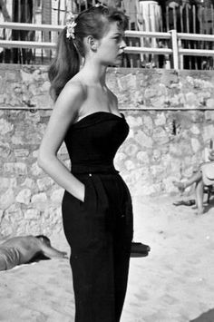 Brigitte Bardot - looks like she's wearing dior by raf simons ;-)