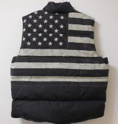 45140065c34fe NWT Denim and Supply Ralph Lauren Distressed Flag Down Vest- M