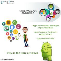 Customized mobile App development. #mobileappdevelopment #mobileapp #development #Company #softcron #softcrontechnology #rohtak #hisar #meham #jind #jhajjar #haryana #delhi #technology #business #facebookmarketing #fbmarketing #fbpromotion http://www.softcron.com/mobile-app-development-services