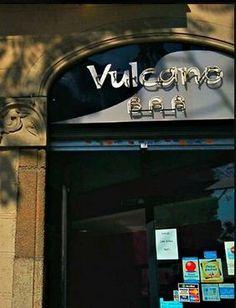 Bar VULCANO, calle Nàpols, Barcelona.
