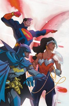 Superman, Wonder Woman & Batman