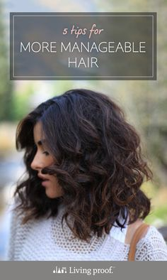 Got coarse hair? Check out these 5 tips for more manageable hair. (Image Credit: Sazan Hendrix)
