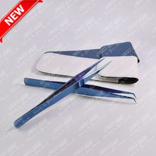 Two Tweezers Blue plasma color coated sets, Two Tweezers Blue plasma color…