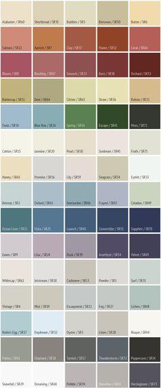 Sarah Richardson Para Paint Entryway Paint Colours : Walls (SR5 Bubbles - P5116-34), Accent Walls (SR58 Elephant - P5221-41), Ceiling (SR15 Cotton - P5226-14), Trim (SR29 Snowfall - P5223-14D)