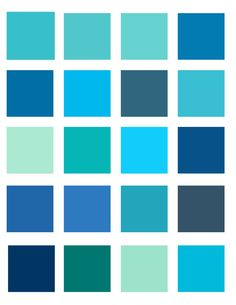 Neon Light Blue Color Palette By Oceanisuna On Deviantart Bedroom Colors Schemes