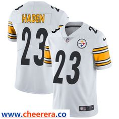 b3027cace Nike Pittsburgh Steelers  23 Joe Haden White Men s Stitched NFL Vapor  Untouchable Limited Jersey