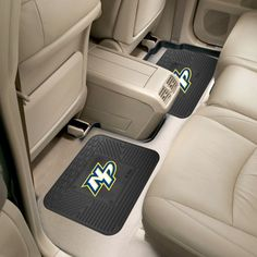 Fanmats Nashville Predators Two Pack Backseat Utility Mats, Team