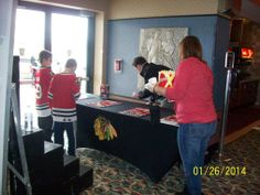 Chicago Black Hawks and Daily Herald event at our Elk Grove Theatre 1/26/2014