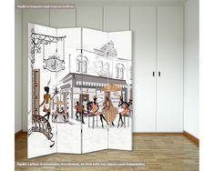 Παραβάν, Old city streets Old City, City Streets, Php, Divider, Room, Furniture, Home Decor, Bedroom, Decoration Home