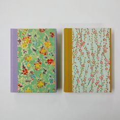 Beautiful chiyogami notebooks, handmade in Cork, Ireland.