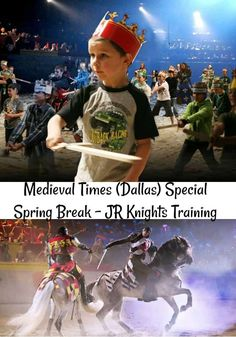 This Spring Break bring your kids to train to become Knights of the realm at Medieval Times! Dallas Fort Worth Texas, Dallas Texas, Medieval Times Dallas, Spring Break, Pageant, Boy Or Girl, Champion, Rocks, History