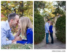 Greenwood Rose Gardens engagement session by Emily Crall Photography #Iowa #engagement #photography