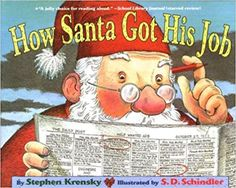 Simon & Schuster How Santa Got His Job Picture Book Christmas Books For Kids, Christmas Pictures, Christmas Fun, Christmas Countdown, Magical Christmas, Christmas Goodies, Book Of Job, The Book, Christmas Activities