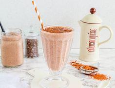 Chocolate Thickie - The BEST Ever Healthy Chocolate Milkshake Pinapple Smoothie Recipes, Homemade Smoothies, Easy Smoothies, Vegetable Smoothies, Yogurt Smoothies, Healthy Mummy Smoothie, Healthy Mummy Recipes, Juice Recipes, Yogurt Recipes
