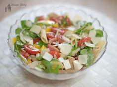 #sałatka #sałtkazpenne #drgaja #przepisy Penne, Mozzarella, Cobb Salad, Food, Essen, Meals, Yemek, Pens, Eten