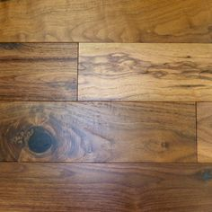 NEW, Brushed American Walnut Natural