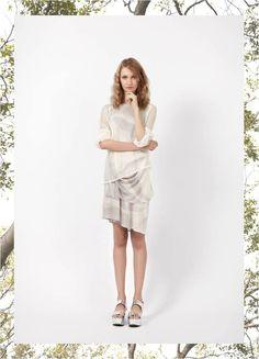 #JulianaGevaerd #ColeçãoBlow #Verão15JG Vestido Heave e Blusa Ragged