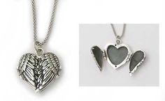 >>>Pandora Jewelry OFF! >>>Visit>> Angel wings locket to hold pictures of loved ones Fashion trends Fashion designers Casual Outfits Street Styles Cute Jewelry, Jewelry Box, Silver Jewelry, Jewelry Accessories, Fashion Accessories, Jewelry Necklaces, Jewelry Making, Pandora Jewelry, Pandora Charms