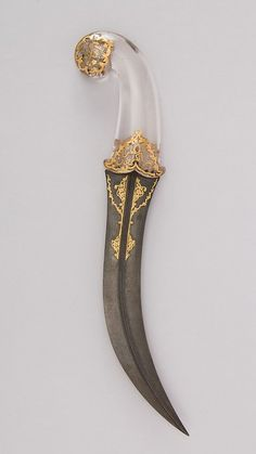 Jambiya Dagger  Dated: 18th–19th century Culture:...