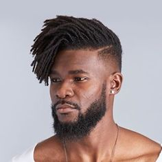 Discover recipes, home ideas, style inspiration and other ideas to try. Men Dread Styles, Dreads Styles, Beard Styles, Curly Hair Styles, Black Men Haircuts, Black Men Hairstyles, Hairstyles Haircuts, Cool Hairstyles, Dreadlocks Men