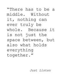 Just Listen by Sarah Dessen #BookQuote #Literature #Books