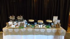 Showcasing our new Dim Sum Late Night Buffet at our Fall 2015 Weddings Open House