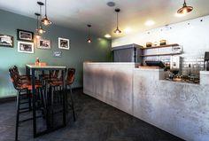 concrete bar desk - Google-søk
