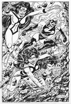Avengers by John Byrne