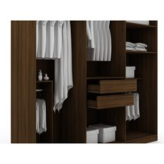 Brayden Studio Dishon Freestanding Wardrobe Armoire & Reviews | Wayfair