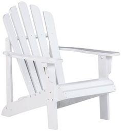 Bernards Addison Adirondack Chair, White