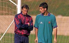 Guardiola.....no sabía nada de fútbol hasta que conocí a Cruyff