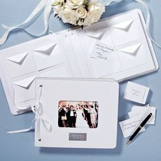 Cute book.. Wedding Wishes Guest Book   Contemporary Wedding Guest Book