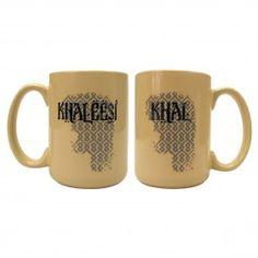 Game of Thrones Khal + Khaleesi Mug Set