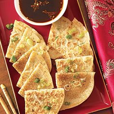 Easy Chinese New Year recipes   Scallion Pancakes   AllYou.com