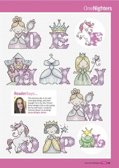 quilting like crazy Cross Stitch Letter Patterns, Cross Stitch Letters, Cross Stitch Designs, Cross Stitching, Cross Stitch Embroidery, Baby Girl Items, Tiny Cross Stitch, Cute Quotes, Bunting