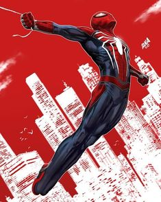 Marvel Comics. Comic Book Artwork • Spider-Man by David Nakayama. Follow us for more awesome comic art, or check out our online store www.7ate9comics.com