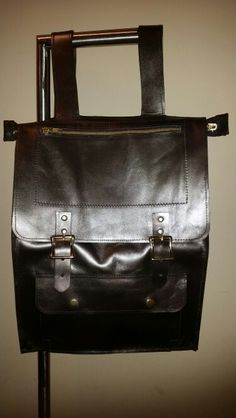 Bronze Leather Backpack LiziBags by Annette Profit