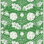 Onni kangas, vihreä Marimekko, Plant Leaves, Plants, Design, Plant, Planets