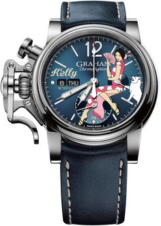 316421023c5 Graham Watch Chronofighter Vintage Nose Art Kelly Limited Edition   add-content  bezel-