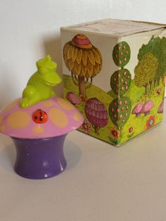 1969 Her Prettiness Magic Mushroom by MaidenAndMoon on Etsy, $9.00 shipped  vintage Avon