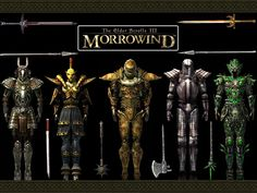 TES Morrowind Armors