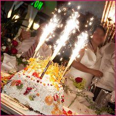 Wedding Cake Sparklers 4 Bottle Cakes