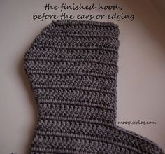Customizable Crochet Scoodie Pattern - free on mooglyblog.com!