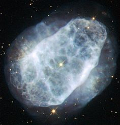NGC 6153 is a planetary nebula that is elliptical in shape, with an extremely rich network of loops and filaments, shown clearly in this Hubble image. However, this is not what makes this planetary nebula so interesting for astronomers. Measurements show that NGC 6153 contains large amounts of neon, argon, oxygen, carbon and chlorine — up to three times more than can be found in the Solar System. The nebula contains a whopping five times more nitrogen than the Sun!